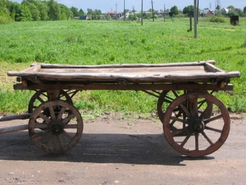 How to make an equestrian cart?